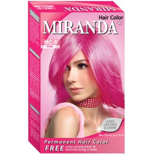 Review Bleaching dan Cat  Rambut  Miranda  Mad Belbie