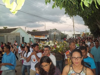 Paróquia de Cuité realiza peregrinação com imagem de Nossa Senhora Aparecida até cidade de Nova Floresta