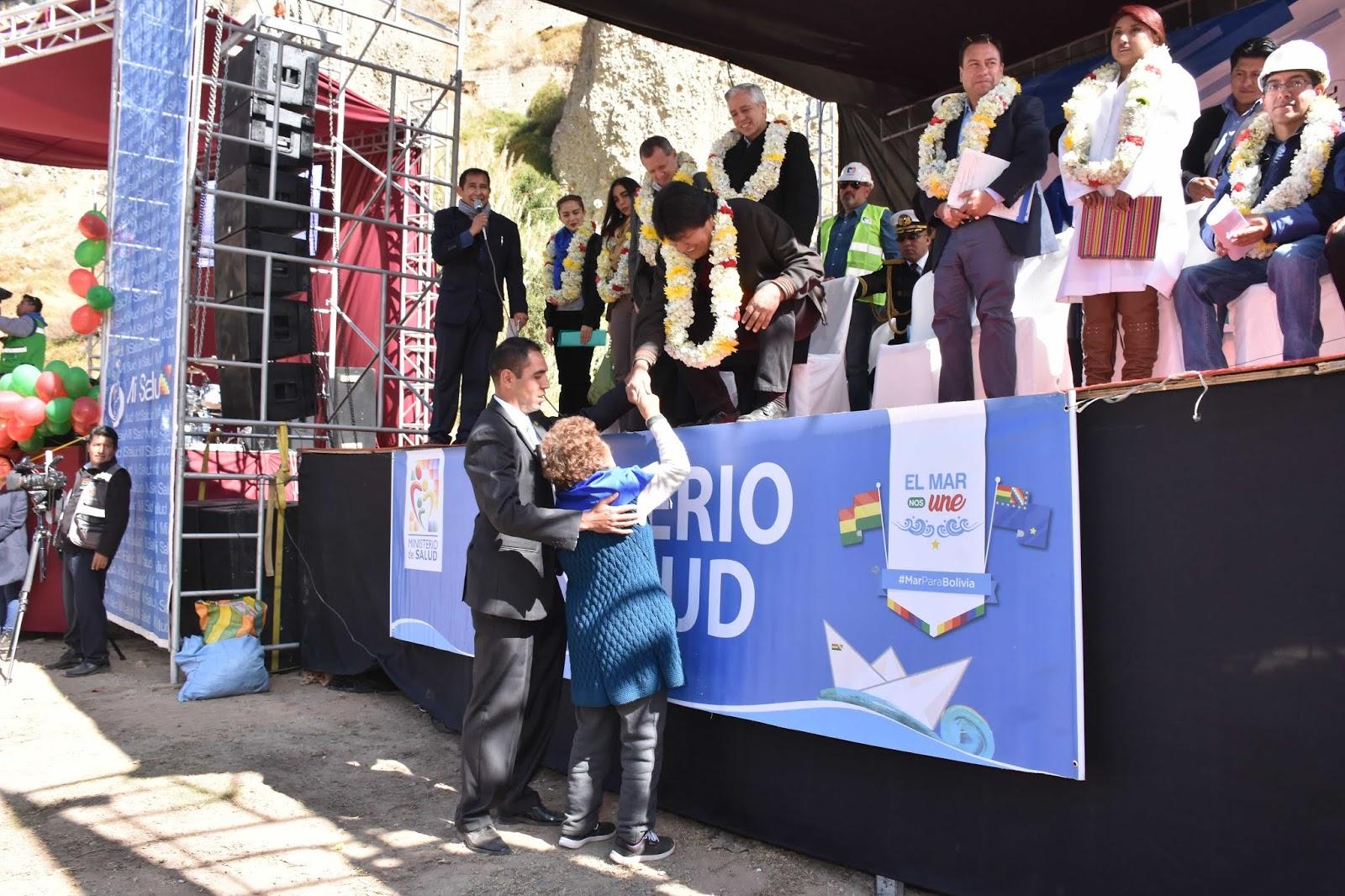 Morales comprometió hospital de especialidades para La Paz / ABI