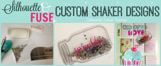Silhouette, Photo Fuse, Silhouette tutorial, custom shaped shaker