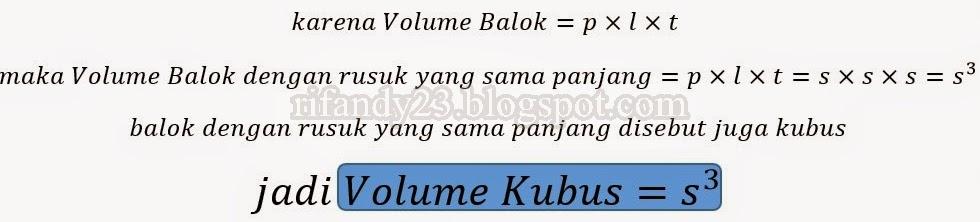 Knowledge: Makalah Volume dan Luas Permukaan (Kubus, Balok ...