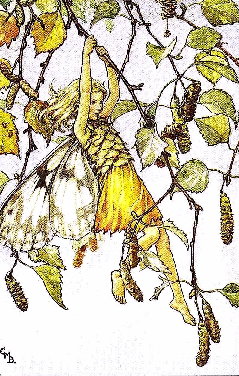 Cicely Mary Barker, tree elf girl