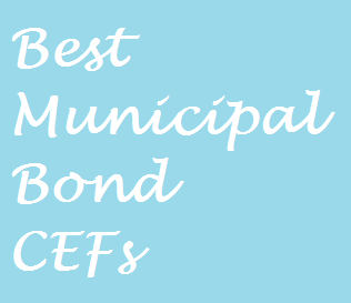 Top 10 National Municipal Bond Closed End Funds CEF