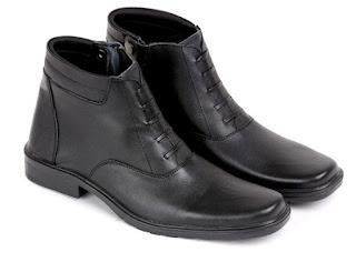 gambar sepatu kerja pdh terbaru,model sepatu pdh bertali hitam, sepatu kerja polisi terbaru,model sepatu kerja lapangan