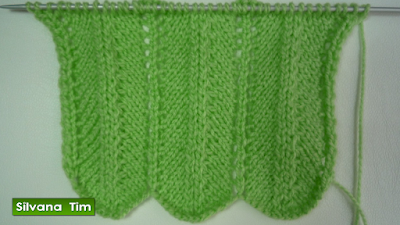 tejido con dos agujas
