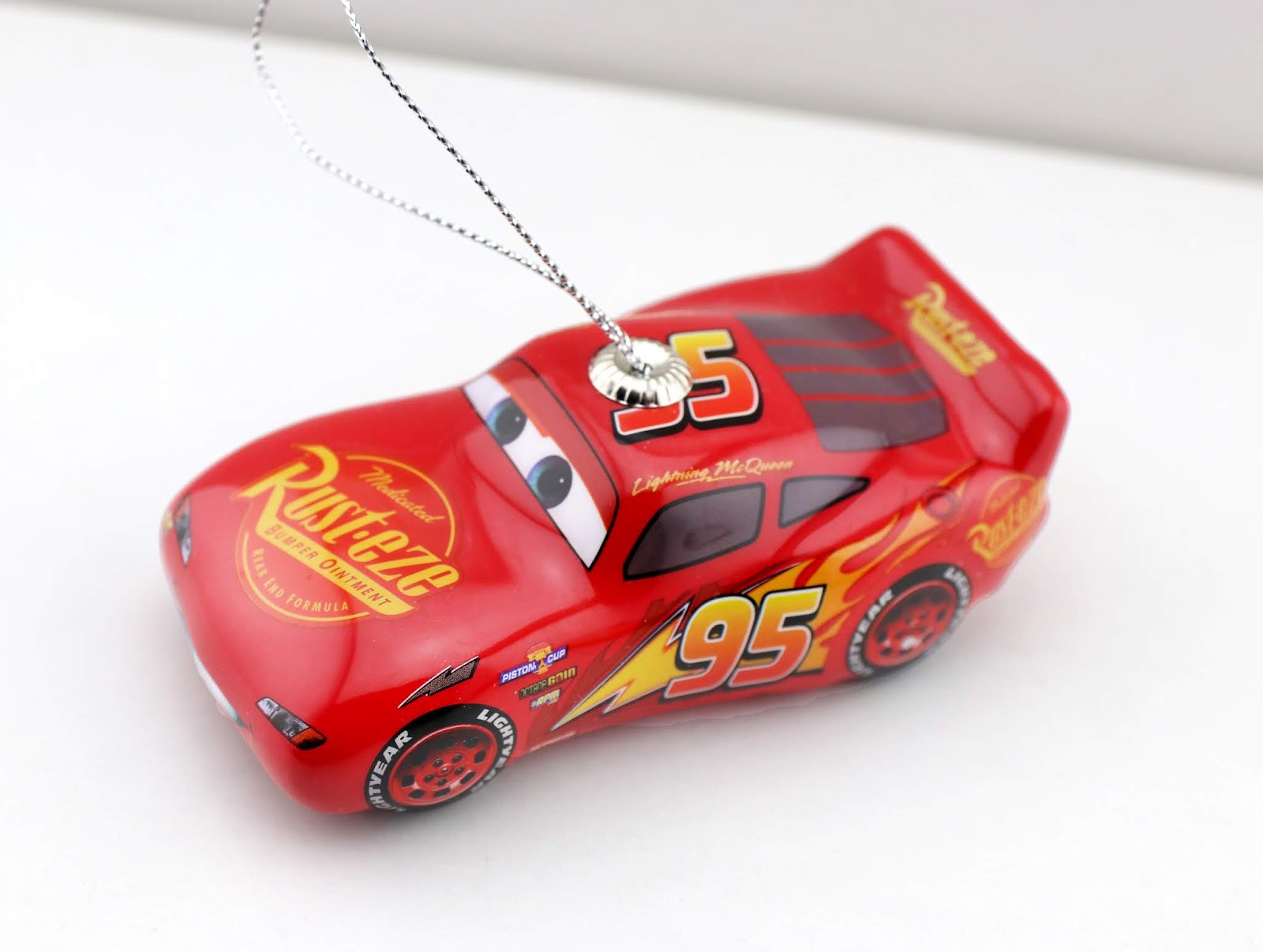cars mcqueen hallmark decoupage ornaments