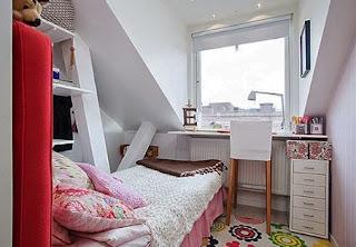 warna cat kamar tidur sempit minimalis