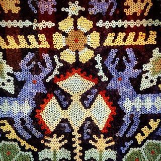 Una imagen del Kauyumari o Venado Azul. Animal sagrado para los indígenas wirrárica