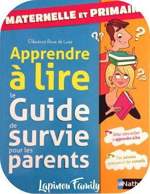 apprendre à lire guide de surivie pour les parents