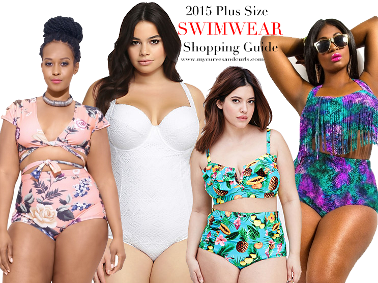 The ultimate swimsuit shopping guide for plus size women.cute plus size  bathing suits 6566dd5e76cf