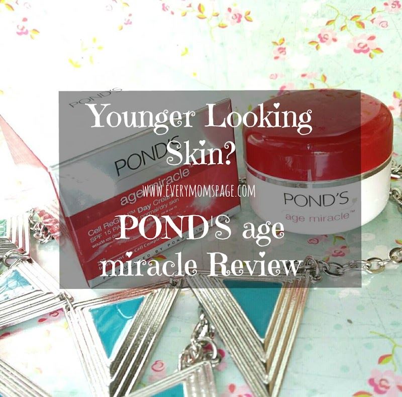 Younger Looking Skin? Pond's Age Miracle Cream #Review