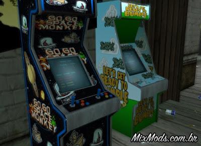 arcade machines improved textures