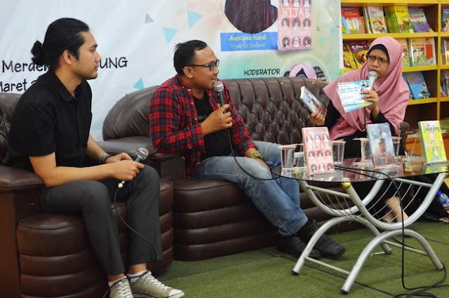 penulis buku, penulis novel, blogger bandung