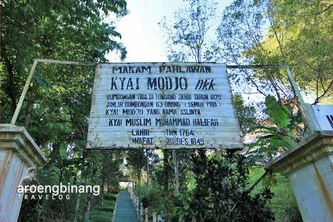 jawa tondano makam kyai mojo minahasa sulawesi utara