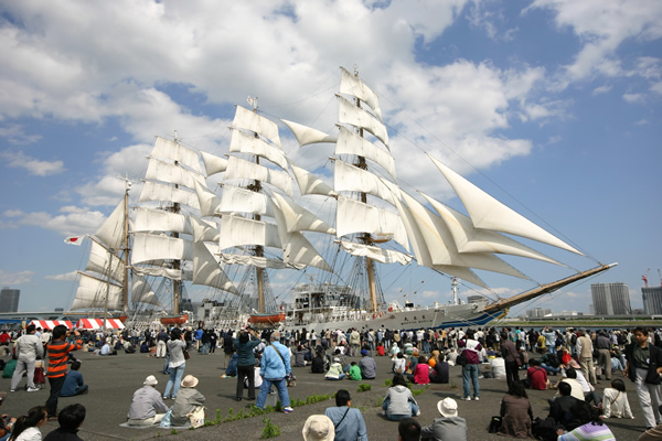 Tokyo Minato Festival - Stage Event and Fire Resque demonstration - at Harumi Wharf