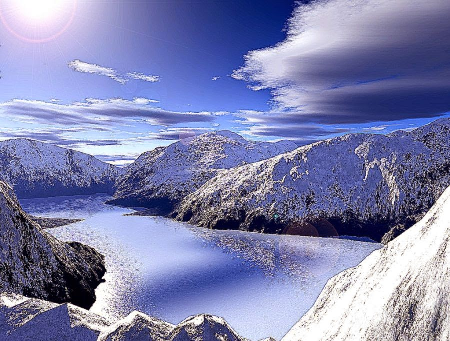 beautiful snow mountain hd - photo #5