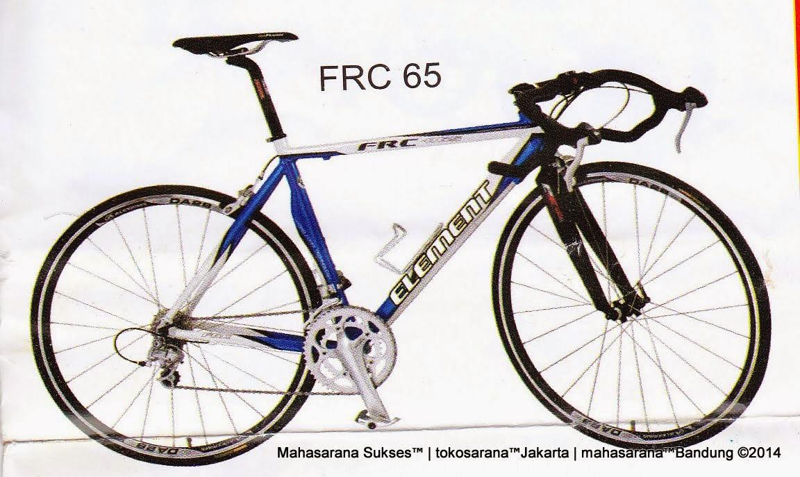 Sepeda Balap Element FRC65 Rangka Aloi 16 Speed Shimano 2200 700C