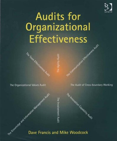 Audits For Organizational Effectiveness by Dave Francis and Mike Woodcock