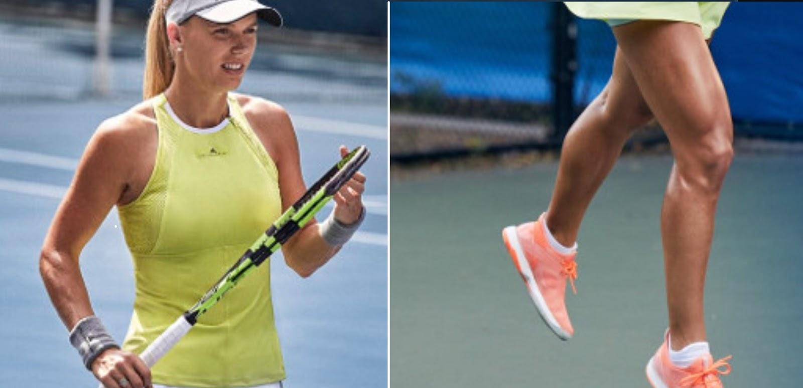 Caroline Wozniacki's outfit Australian Open 2018