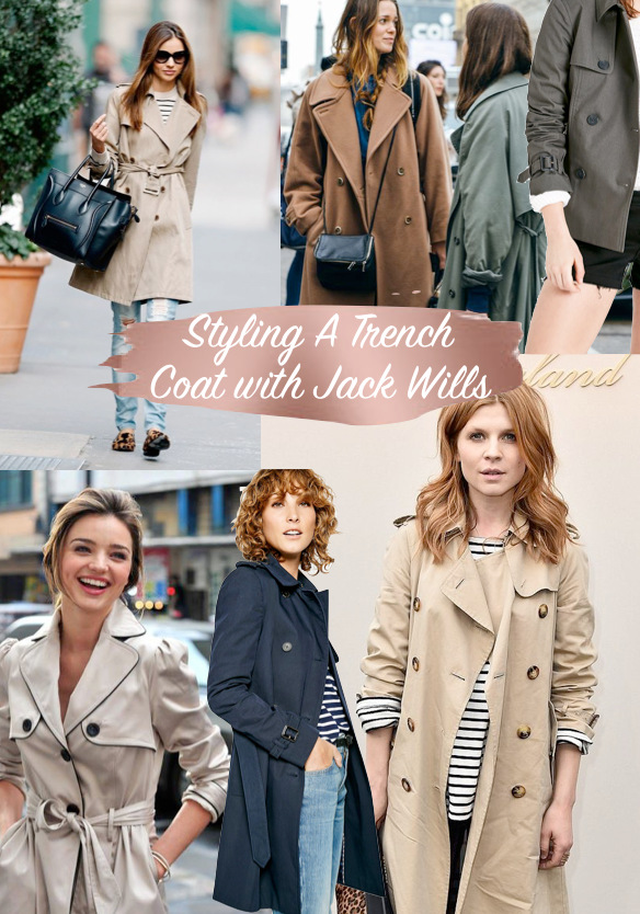 How To Style A Trench Coat + Wish List