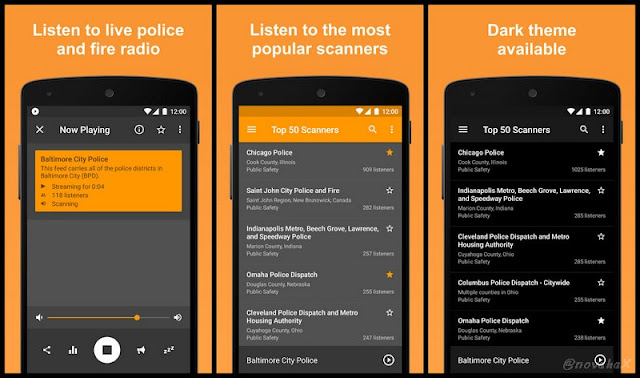 Fire and police scanner radio apk