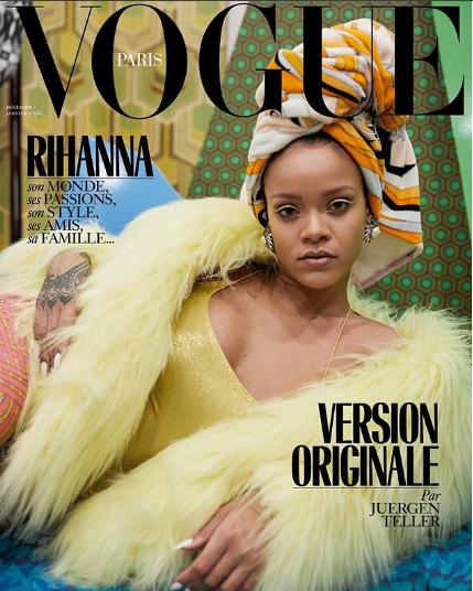 Rihanna slays on 3 covers for Vogue Paris