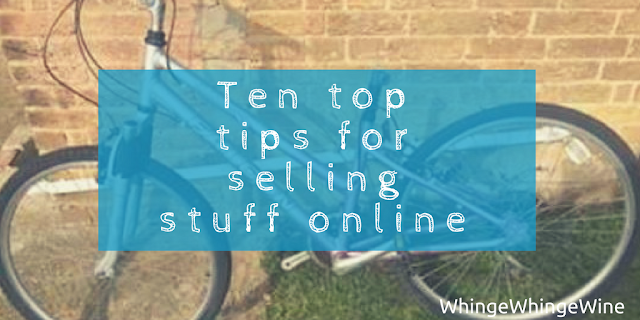 Ten top tips for selling stuff and making money online