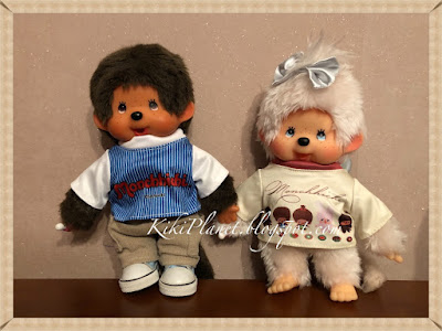 kiki monchhichi chimutan t-shirt plus secret exclusif vêtement