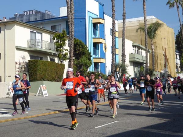 LA Marathon 2017 runners