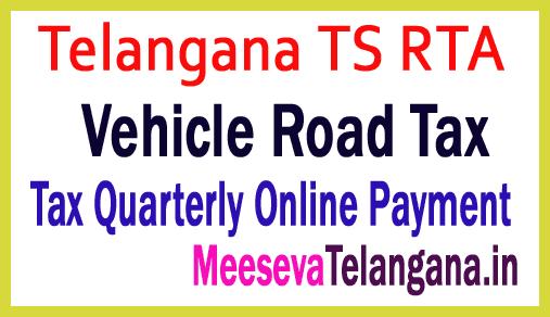 Telangana TS RTA Vehicle Road Tax Online Payment