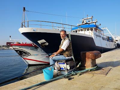 26 maggio 2018 - Catture a fine pescata a Mola di Bari