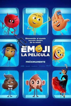 Poster The Emoji Movie 2017