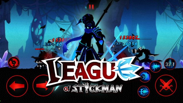 league of stickman arena pvp hile