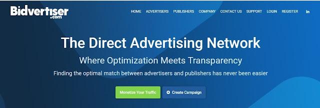 موقع bidvertiser بديل ادسنس للمبتدئين
