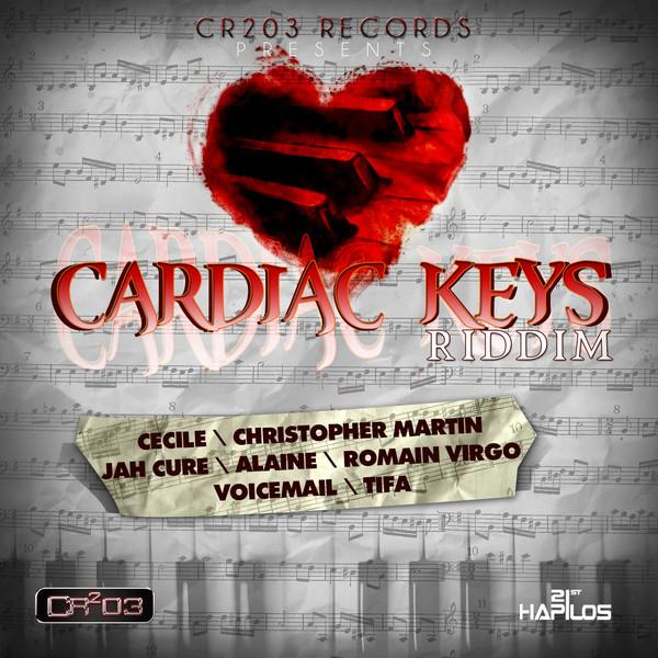 CARDIAC KEYS RIDDIM [FULL PROMO] – ZJ CHROME/CR2O3 RECORDS