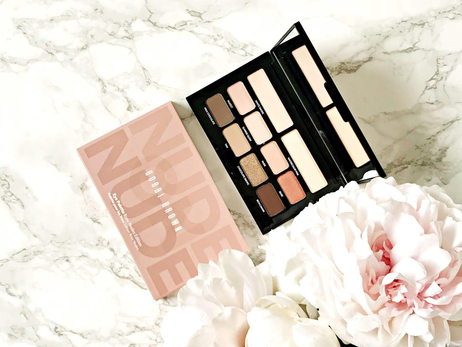 Bobbi Brown Rosy Nudes Edition Palette Review
