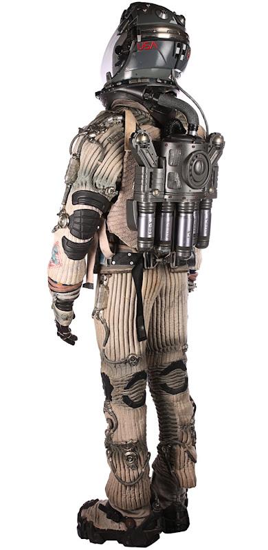 Ben Affleck Armageddon spacesuit back