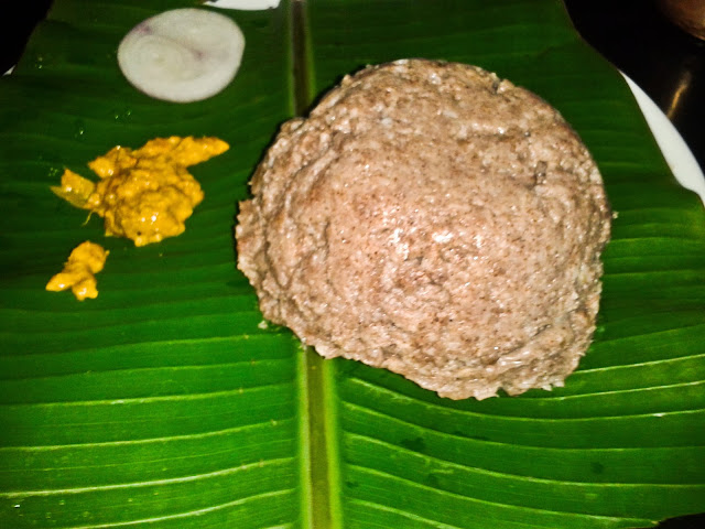 Kritunga Hyderabad Andhra Ragi Muddha