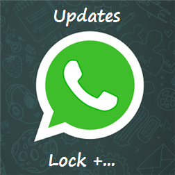 WhatsApp for Windows - Updates with Lock