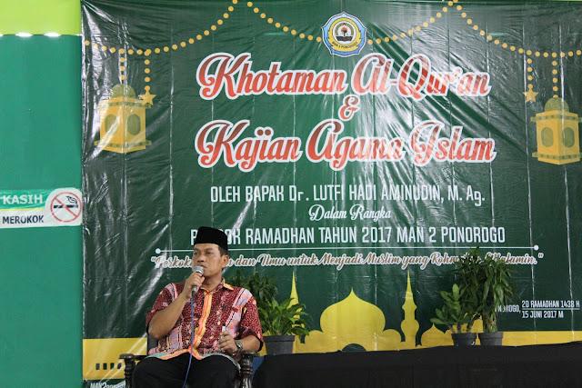 Khotaman Qur`an dan Kajian Agama Islam