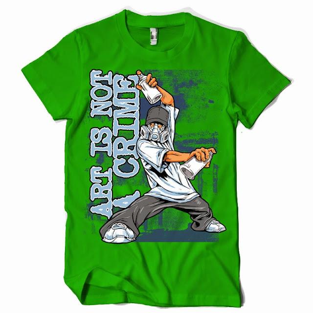 grafitti tshirt