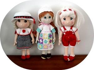 Amigurumi Muñecas Candy