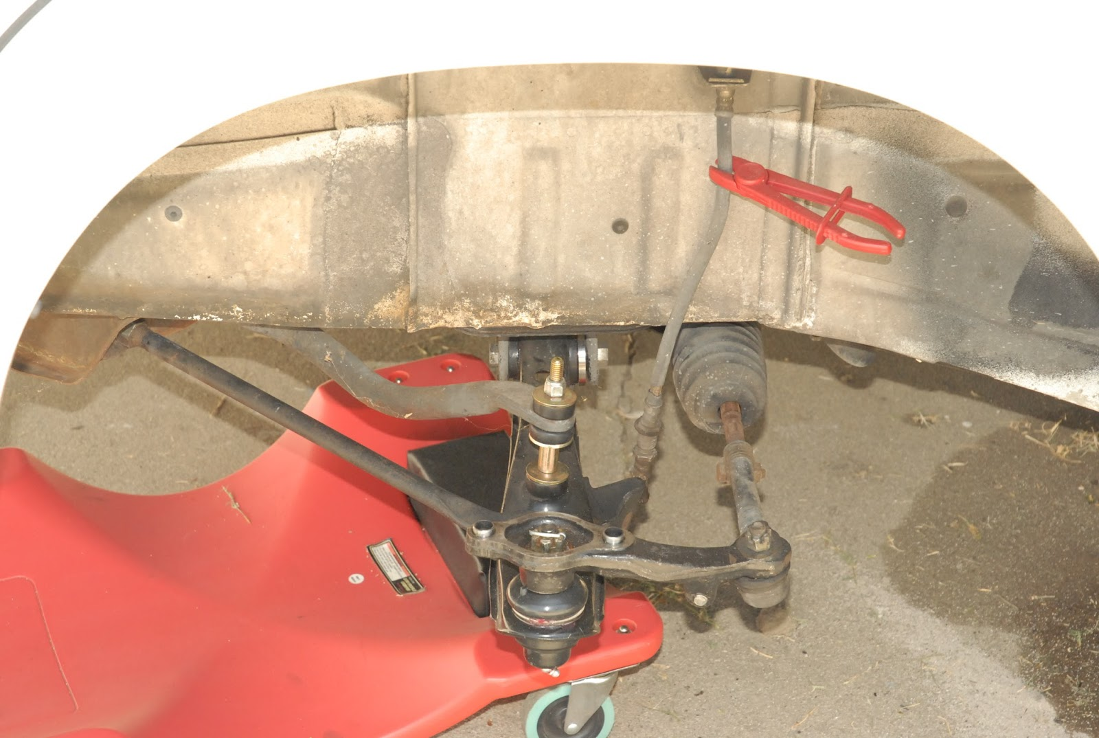 Every Blade Of Grass Lower Control Arm Installed