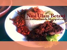 Beras merupakan materi masakan pokok sebagian besar masyarakat Indonesia Resep Nasi Ulam khas Betawi,, Enak Pastinya!