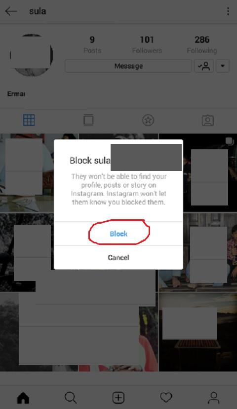Blokir Akun Instagram Orang Lain Secara Permanen
