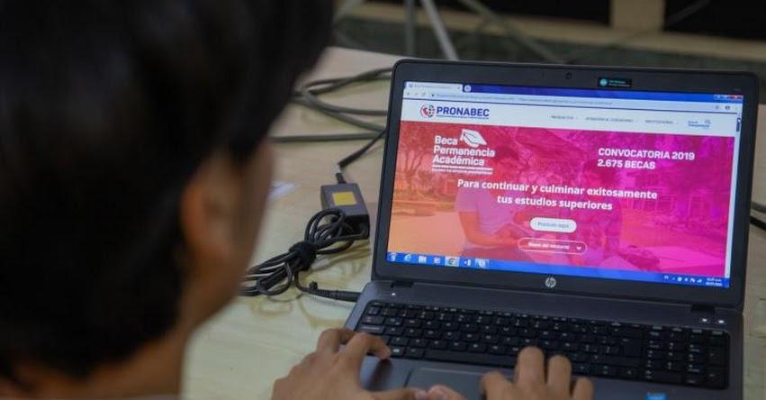 PRONABEC otorgará 10 mil becas y 7 mil créditos educativos adicionales - www.pronabec.gob.pe