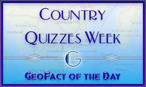 This week is Country Quizzes Week.