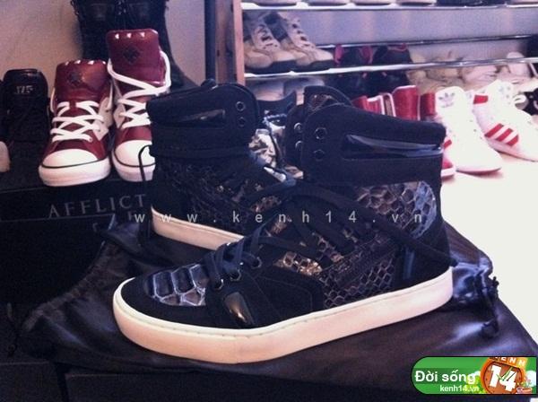 Bộ sưu tập giày sneaker tột đỉnh của anh chàng việt tại mỹ bạn nữ nào cũng m8ê
