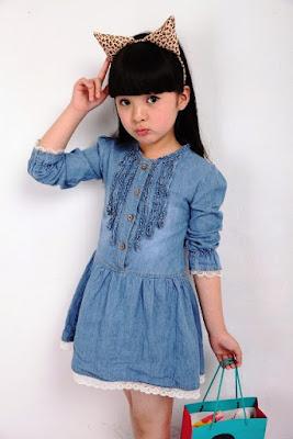 Model Baju Anak Perempuan Terbaru Untuk Usia 9 Tahun