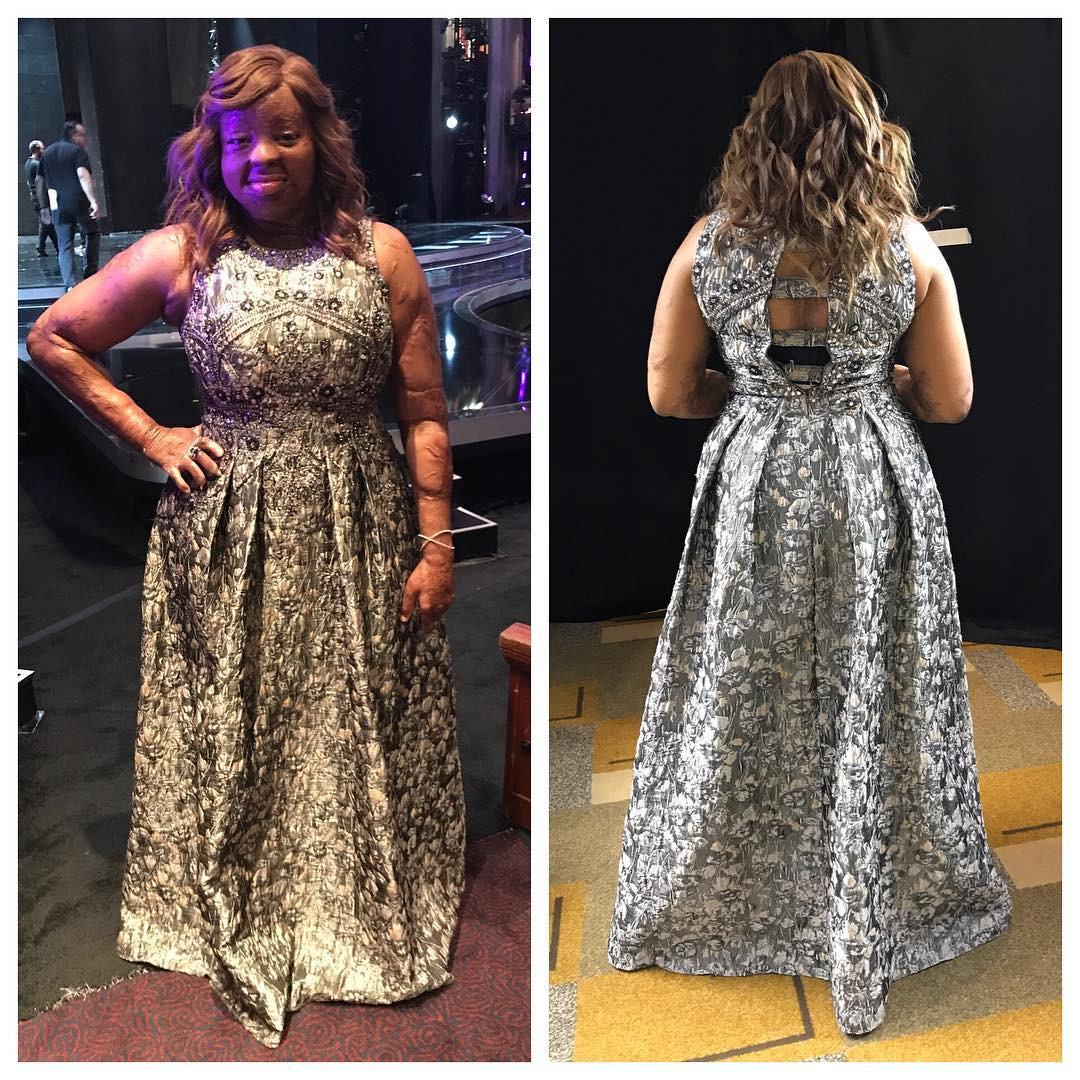 Kechi's outfit at the America's Got Talent
